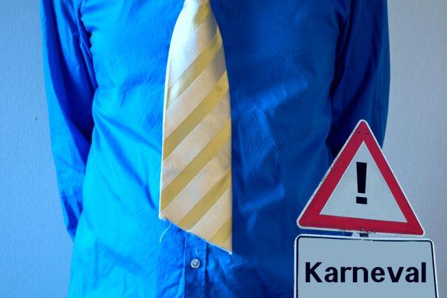 Darf ich dem Chef an Karneval die Krawatte abschneiden?
