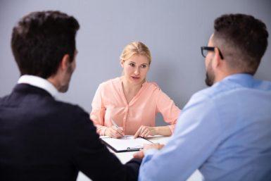 Wie läuft ein Vorstellungsgespräch üblicherweise ab?