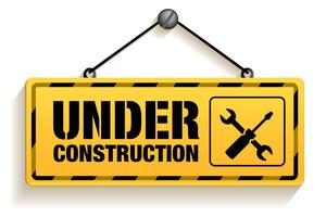 Baustelle Webseiten Arbeiten Under Construction