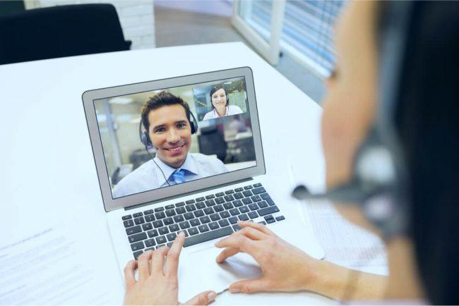 Wie funktioniert ein Bewerbungsgespräch via Skype?