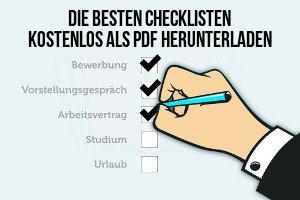 Checklisten Pdf Kostenlos Download Uebersicht Sidebar 300