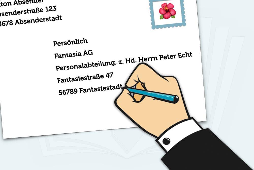 Persönlich adressieren brief vertraulich 48+ Listen